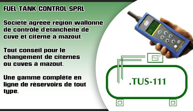 Fuel tank control contrôle de cuves et citernes à mazout